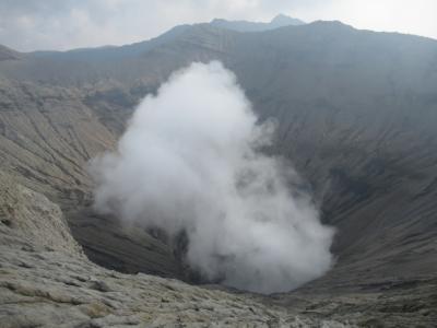 インドネシア ジャワ島 ブロモ山