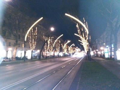 12月 ヨーロッパ3都市めぐり 最初はウイーンへ