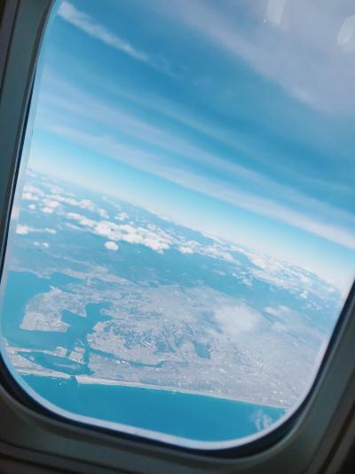 2019/12/10~14 子連れグアム旅行✈️ セントレア(中部国際空港)出発~グアム到着