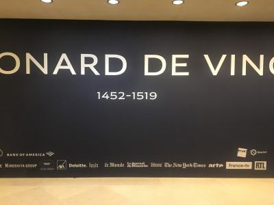 2019Dec ダヴィンチ展のためにスト真っ最中のパリへ
