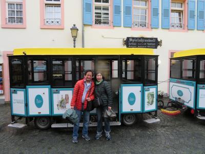心の安らぎ旅行(2019年5月 Rudesheimリューデスハイム Part2 Sightseeingbus 観光バス♪)