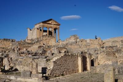 チュニジア周遊とジェルバ島(2)----ブラ・レジア遺跡とドゥッガ遺跡