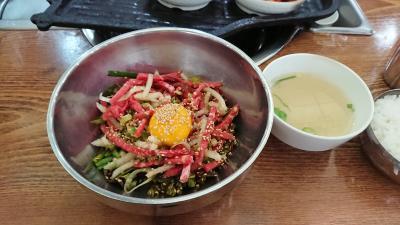 韓国66回目 ~3日間で食べたもの~
