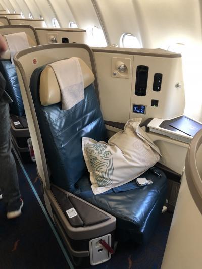 スリランカ航空ビジネスクラスでいく弾丸コロンボ