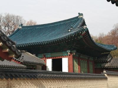 昌徳宮(チャンドックン)から景福宮(キョンボックン)