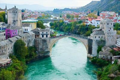 2019年11月クロアチア他(14) モスタル(ボスニア・ヘルツェゴビナ)