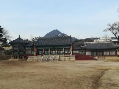 景福宮(キョンボックン)と交代式