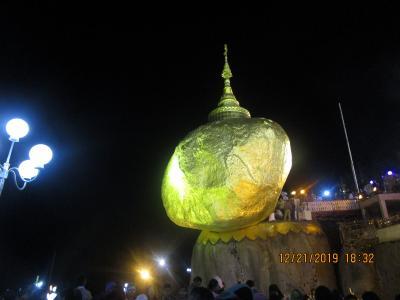 ミャンマー観光 Part1.成田→ヤンゴン