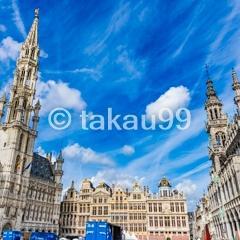 乗継トランジットでブリュッセル1日観光
