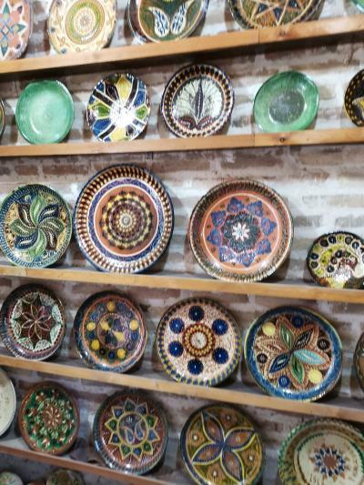 ウズベキスタン2019・・・(6)シルクロードのオアシス都市ブハラ 多彩な手工業製品に溢れる街