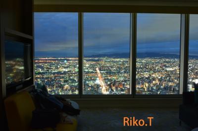 マリオット大阪ミヤコ コーナーキング 天空のホテル 宝石に埋もれた夜☆彡