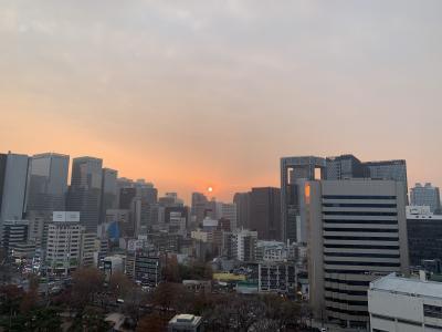 週末上海・ソウル一人旅 モクシー・ソウル・仁寺洞ホテル -2019年12月-