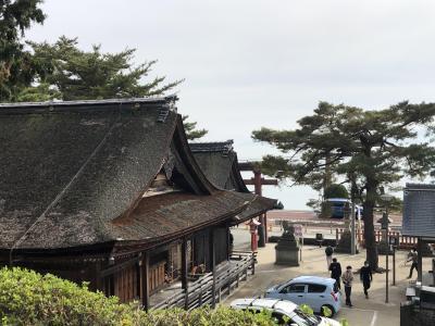 近江白髭神社から高島の町家レストランへ