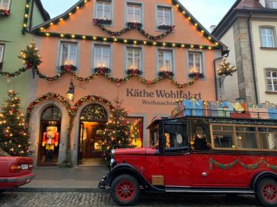 クリスマスマーケットのドイツ・チェコ・オーストリア