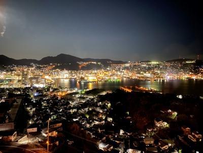 <長崎・キリシタン物語・1>キリシタン紀行の始まり・世界に誇る長崎の夜景に感動☆彡