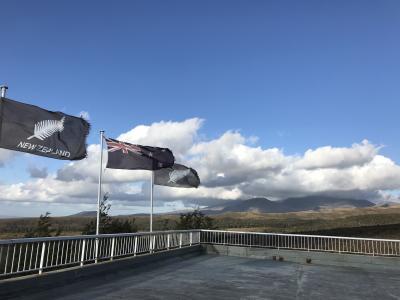 ニュージーランド北島、トンガリロ国立公園