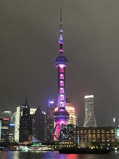 1泊2日弾丸で上海いってきました。
