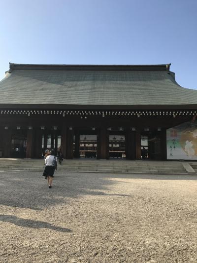 日本国始まりの地、橿原散歩と畝傍山ハイキング