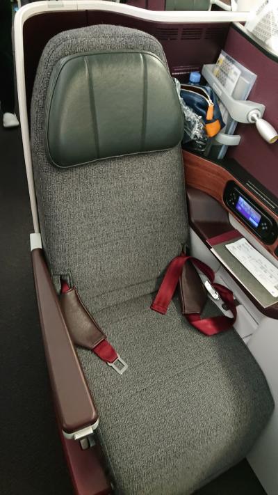 QR980(DOH-BKK) ビジネスクラス機内食
