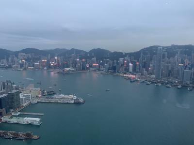 最近デモで話題の香港へ(1/3:移動~香港sky100)