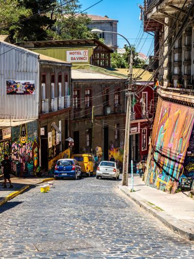 チリのサンティアゴから2時間の街バルパライソ