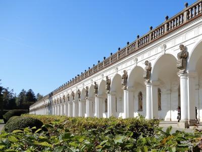 チェコの世界遺産12か所、すべてを巡るbaba友の旅【15】6日目(クロムニェジーシュ庭園)