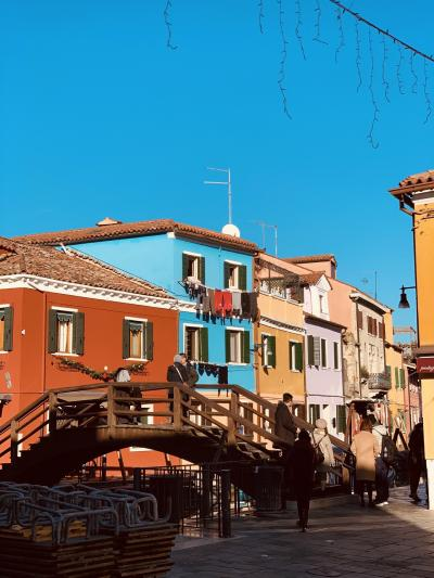 旅の途中 VeneziaからBuranoへ