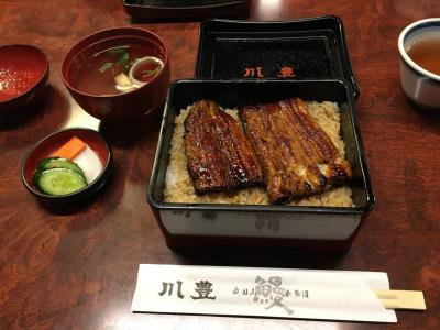 半世紀に渡り嗅覚と視覚のみで味わってきた川豊の鰻を、初めて味覚で堪能しました!