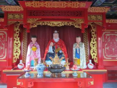 中国 「行った所・見た所」 天津の古文化街にある天后宮に行きました