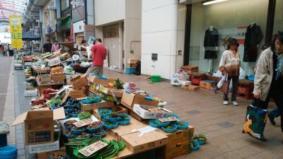 新潟市内散歩_市場と商店街 2019年9月 福島・新潟⑥