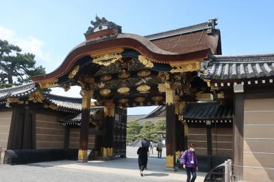 【2019年5月】 山崎蒸留所と京都ぶらり旅 その5 二条城へ