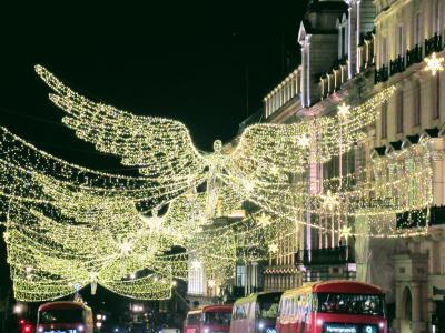 足まめ母娘のロンドン2人旅2回目 ②とにもかくにもクリスマスイルミネーション巡り