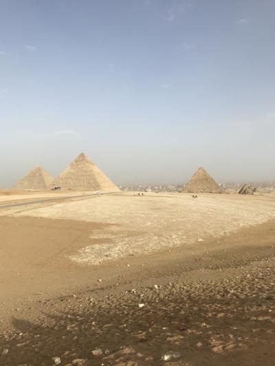 圧巻のピラミッド