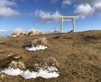 令和元年の登り納め 入道ヶ岳