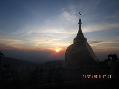 ミャンマー観光:Part2.ゴールデン ロック