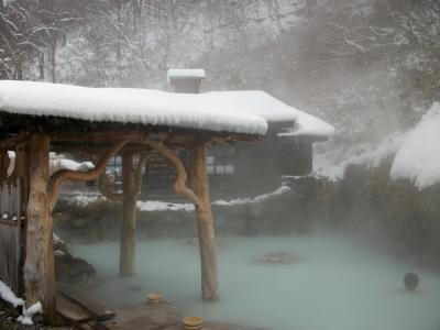 念願の東北の秘境、乳頭温泉に浴す。