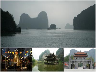 北ベトナムの世界遺産を訪ねて! 1/2 - ハロン湾/チャンアン/ホアルー