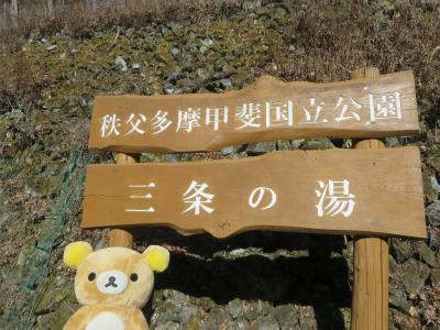 大晦日は雲取山荘へ 初日の出は雲取山へ そして初湯は三条の湯へ (初湯は山のいで湯で下山はお祭