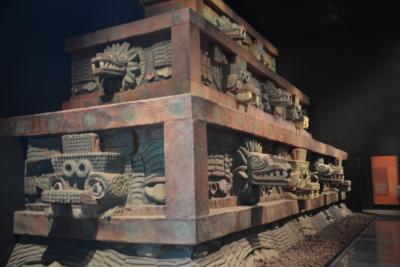 ビバ メヒコ メキシコシティ 国立人類学博物館へ行きました。