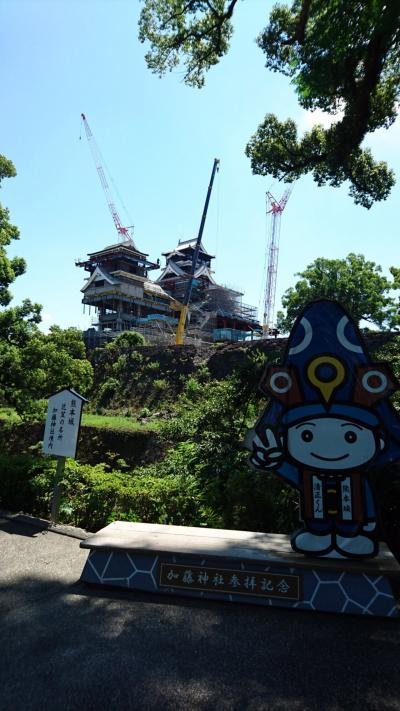 崩れた熊本城をみて(´;ω;`)
