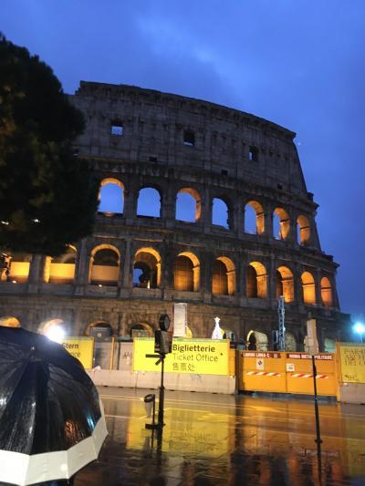 初めての ローマ