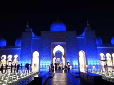 2019-20 令和最初の年末年始はUAE 1 豪華絢爛アブダビのモスク巡り
