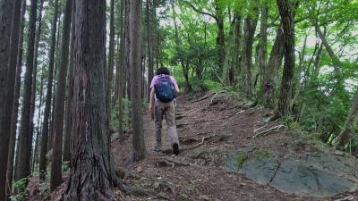 雨上がりの奥多摩・高水三山。