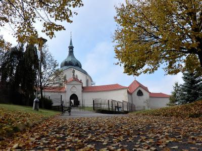チェコの世界遺産12か所、すべてを巡るbaba友の旅【17】7日目(聖ネポムツキー巡礼教会)