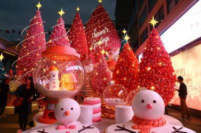 香港★キラキラ光るクリスマス前の香港