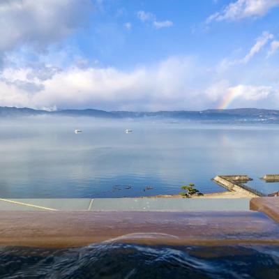 【年末温泉旅行】上諏訪 萃Sui諏訪湖ひたすらのんびり