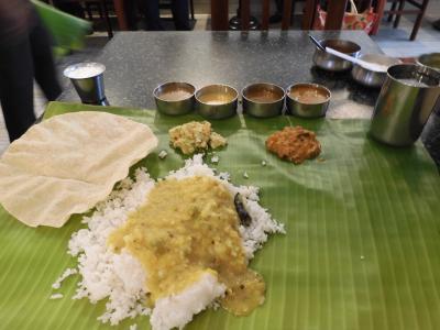 南インド、水の旅(2019)いきなり降られた、ティルヴァナンタプラム(トリバンドラム)