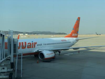 チェジュ航空 7C2021便 仁川国際空港から香港国際空港