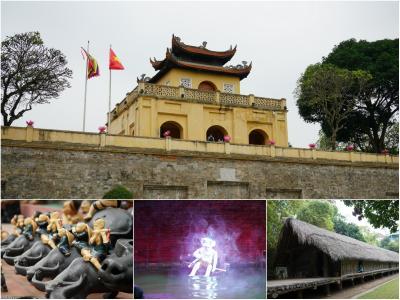 北ベトナムの世界遺産を訪ねて! 2/2 ハノイ市内 & バチャン村