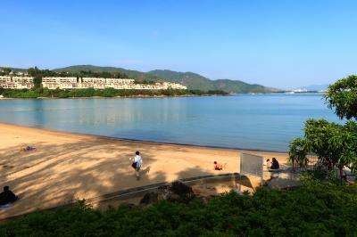 香港★ディスカバリーベイのビーチで過ごしたクリスマス ~巷仔冰室・愉景灣~